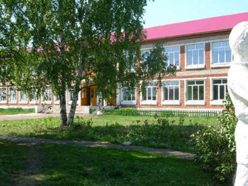 Здание Никольской средней школы